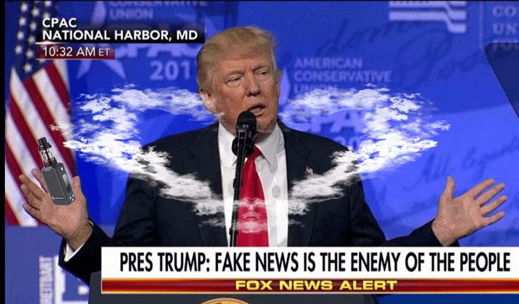 Vaping - Fake News - Be informed not deceived