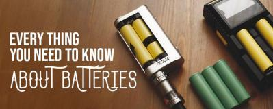 E-Cig Battery Types – Every Thing You Need to Know