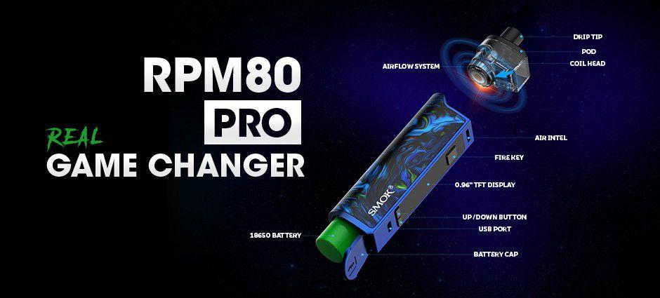 Smok RPM80 Pro Mod Kit